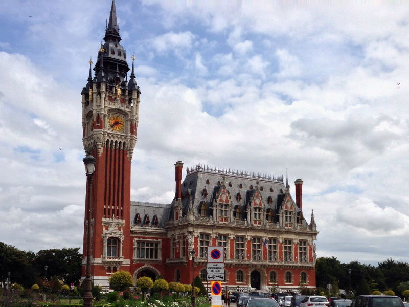 Tag 1: Westheim - Calais - Dover - Sandwich - Ramsgate (1/6)