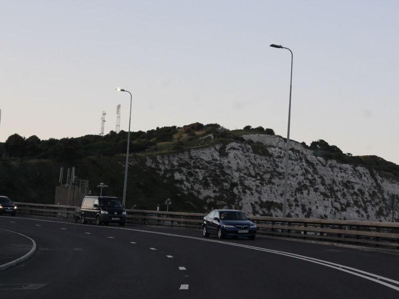 Tag 1: Westheim - Calais - Dover - Sandwich - Ramsgate (5/6)