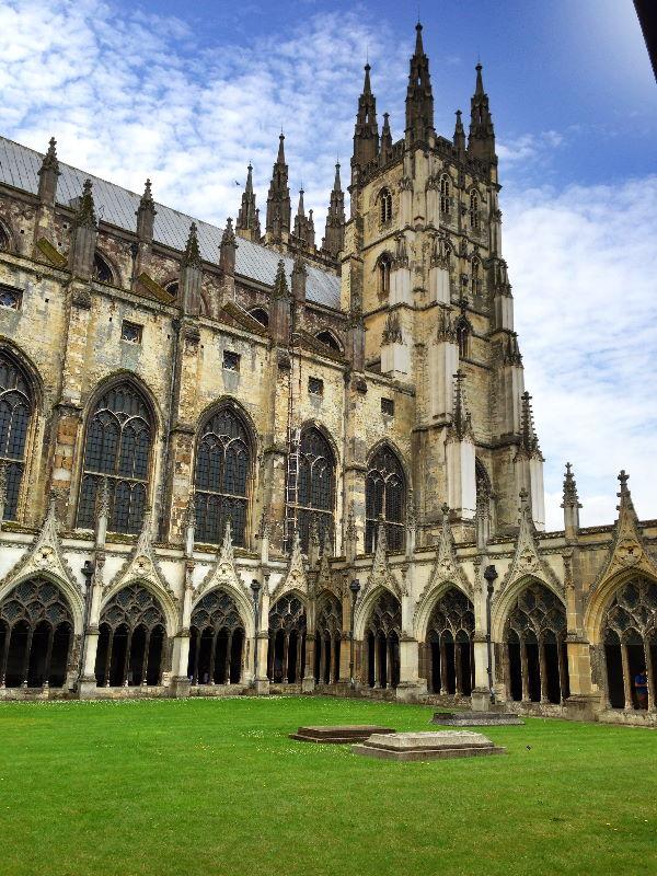 Tag 2: Canterbury – Leeds Castle – Tudeley – Hever Castle – Lingfield – Hailsham (3/6)