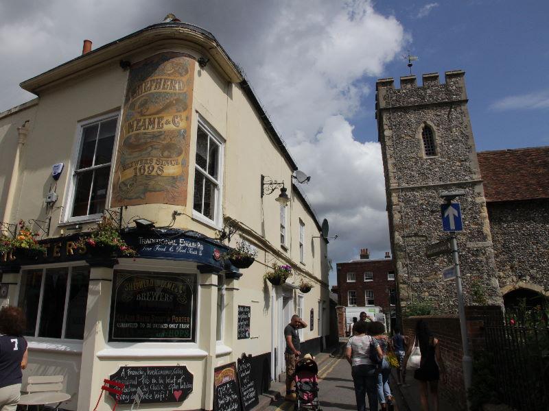 Tag 2: Canterbury – Leeds Castle – Tudeley – Hever Castle – Lingfield – Hailsham (5/6)